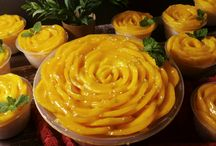 Rose Mango Sticky Rice by D'licious