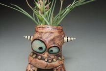 Keramik monster / Pinchpot