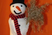 Vinterideer fra min blog http://agnesingersen.dk / Egne ideer fra min blog www.agnesingersen.dk  kids crafts winter