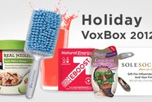 My Holiday VoxBox! Complimentary for testing purposes from Influenster! / by Shelly Grundy-Cox