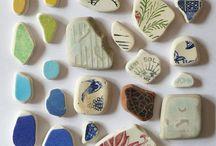 Sea Glass & Sea Pottery