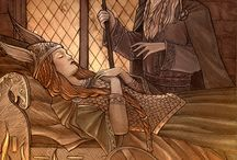Norse Mythology Artwork / watercolours   www.natasailincic.com