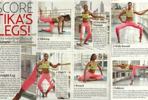 Barre Workouts / Pilates inspired barre