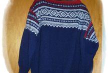 Mariusting / Her legger jeg ut strikkede Mariusting jeg har strikket
