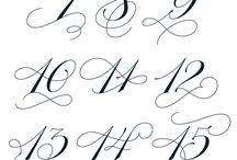 Tattoo Numero Numbers