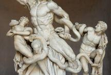 Romeinse kunst en Griekse kunst