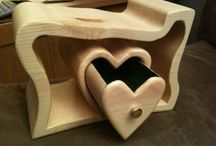 pequeña artesania en madera