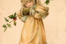 vintage jule bilder