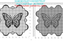 Free filet crochet patterns square doilies