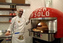 Pizza Da Solo / Delicious pizzas that are baked to order in a wood-burning oven