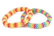 Rainbow loom ideas
