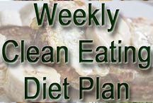 weekly clean diet