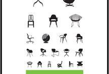 Design / Chair - table - sofa