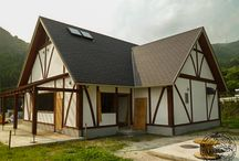English Oak Tea Room in Japan / We raise our hand-crafted English oak buildings anywhere in the world