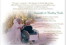 Wedding anniversary invitations / by Storkie Express