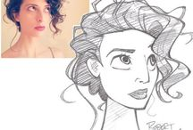 cartoon of person