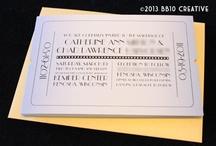 Movie Theme Wedding Invitations