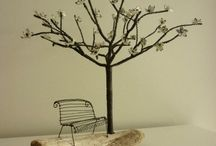 Wire trees / Wire trees sculpture