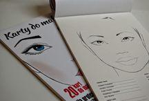 Makeup/Face Charts