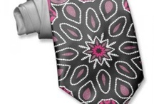 NECKTIES {products} / Custom Neck Tie made from 100% Silky Polyester fabric with designs & art by webgrrl.biz