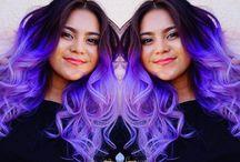 Purple Rain - Colored Hair