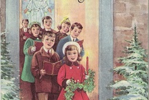 A Vintage Christmas / Look by in time with vintage Christmas pins, including recipes, cards, ornaments and more.