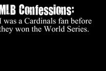 Cardinals Baseball / by Janet Kawash