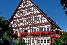 Gebäude in Oberschwaben