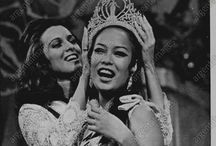 Miss Universe 1969 ( Gloria Diaz ) / Gloria María Aspillera Díaz (born 10 March 1947 in Aringay, La Union) is an award-winning actress in the Philippines,and the first Filipino to win the Miss Universe crown in 1969 in Miami Beach, Florida, United States of America.