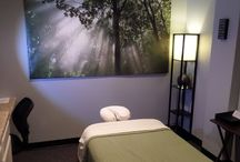 Massage room ideas
