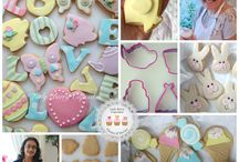 Cookie Decorating Class / Do you love Cookies? We have designed a class just for you! With a range of gorgeous shapes and cutters you will learn to cover your cookies with yummy fondant. creating stripes and polka dots along with gorgeous Sugar Craft detail to don your cupcakes. Tea pots, tea cups, owls, apples, hearts, rabbits, butterflies, dresses, letters and much more * This is NOT a flood icing cookie decorating class*  You will decorate 12 cookies to bring home with you in a Lady Berry Gift Box.