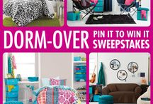 CollegeFashionista X Bed Bath & Beyond Dorm-over / by Jasmine Gomez