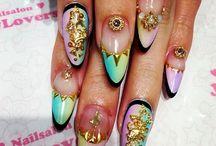 nagels gelakt
