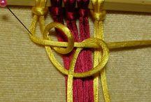 Fiber Art - Macrame, weaving / Macrame, wall hangings, weaving, textiles, yarn, tapestries, pom poms, tassels