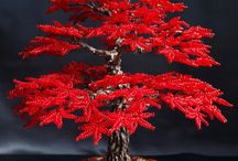 Gemstone/bead trees