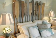 headboards / This collection of recycled and repurposed DIY headboards will send you off with sweet dreams!