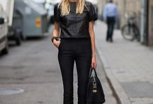 All Black Everything / There's nothing more chic than all black from head to toe!