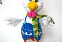 Handmade Toys for Sale / Crochet toys, handmade, knitted toys