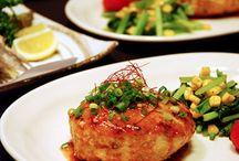 鶏胸肉バーグ