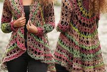crochet cardigans