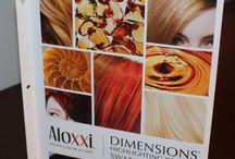 ALOXXI DIMENSIONS: la nuova DiMeNsIoNe del colore! / Crea stupendi accenti luminosi e giochi di colore in 1 solo passaggio con Aloxxi Dimensions. Perfettamente utilizzabili su capelli naturali o colorati, contengono il CDP Complex che Condiziona il capello, Deposita il colore in profonidità e Protegge il capello.