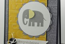 Stampin' Up! - Zoo Babies / These are projects using the Stampin' Up! Stamp set Zoo Babies