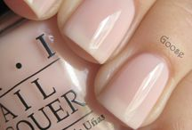 NAIL POLISHES/CARE FOR NAILS / by Karen Riley