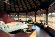 Okonjima - Bush Camp / The lodge is home to The AfriCat Foundation, a non-profit organisation, committed to the long-term conservation of Namibia's large carnivores, notably cheetahs and leopards. Bush Camp is beautifully integrated into the natural surroundings and is absolutely delightful.
