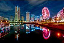 Yokohama City Landscape