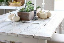 Kitchen table inspo