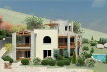 Architettura in Sardegna 5 / Villaggio turistico-residenziale (Macr. R2) in Loc. Monti Capaccia - fraz. di San. Pasquale - Tempio Pausania