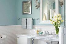 weiße Badezimmer