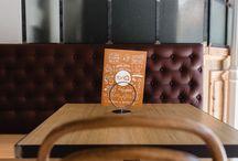 Diseño Gráfico Taberna La Auténtica / Diseño de cartas de menús de las tabernas más auténticas de Sevilla