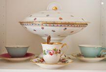 Les jolies tasses / Fan de vaisselle, vaisselle addict, de jolies tasses, mugs pour accueillir tisanes et autres thés...